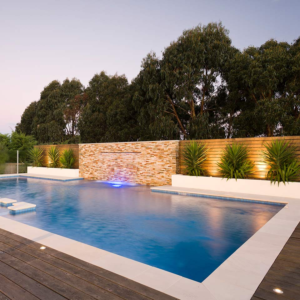 Pool Landscaping Services