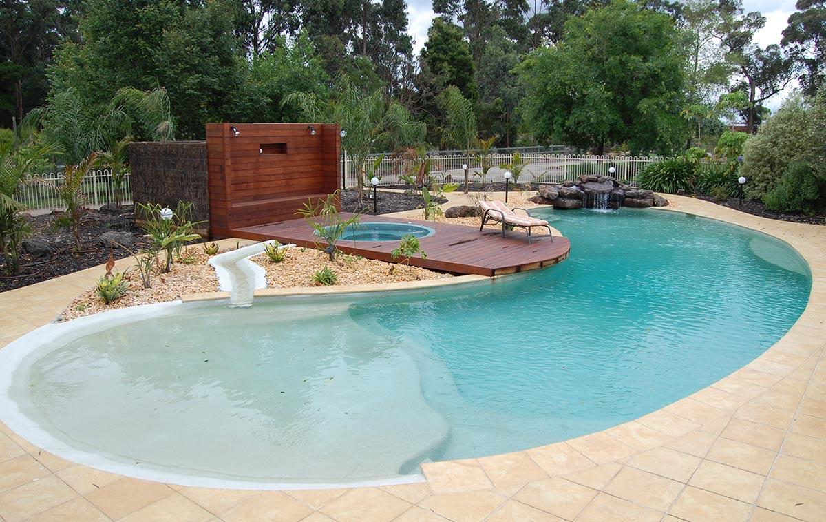 inground pool melbourne