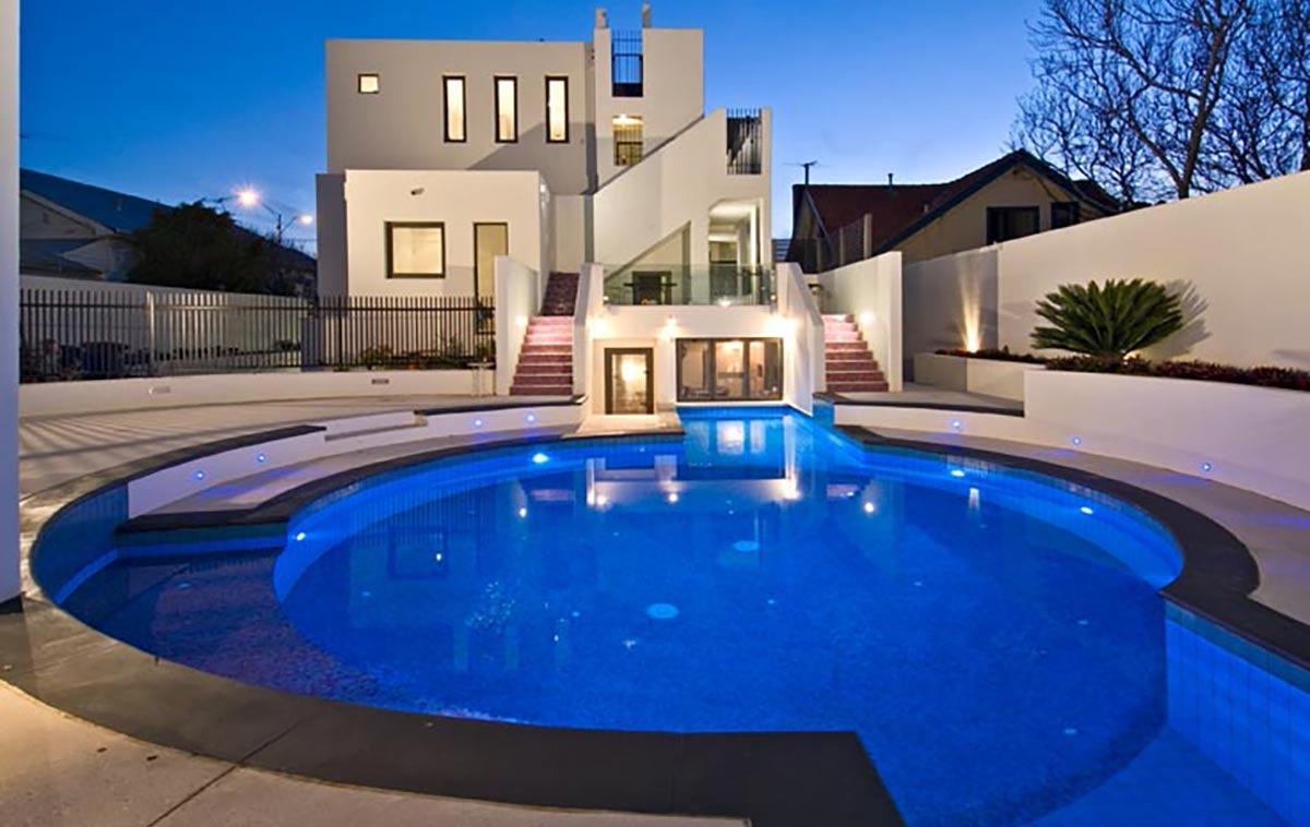 lap swimming pool