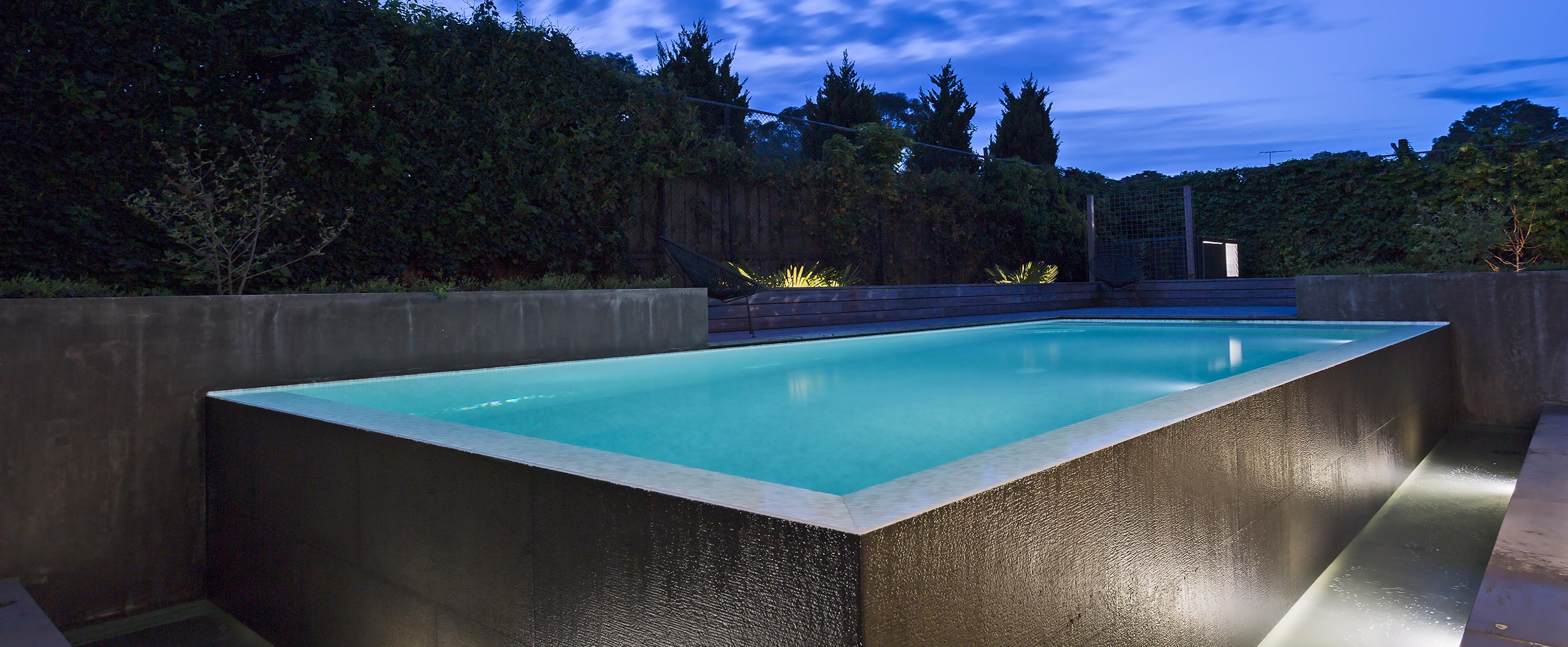 negative edge pool