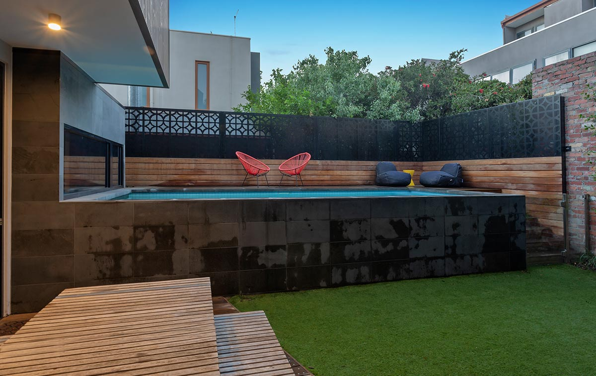 out of ground pool
