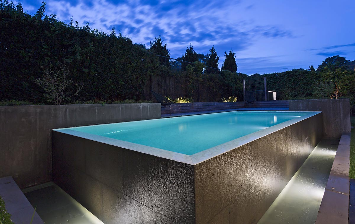 pool out of ground