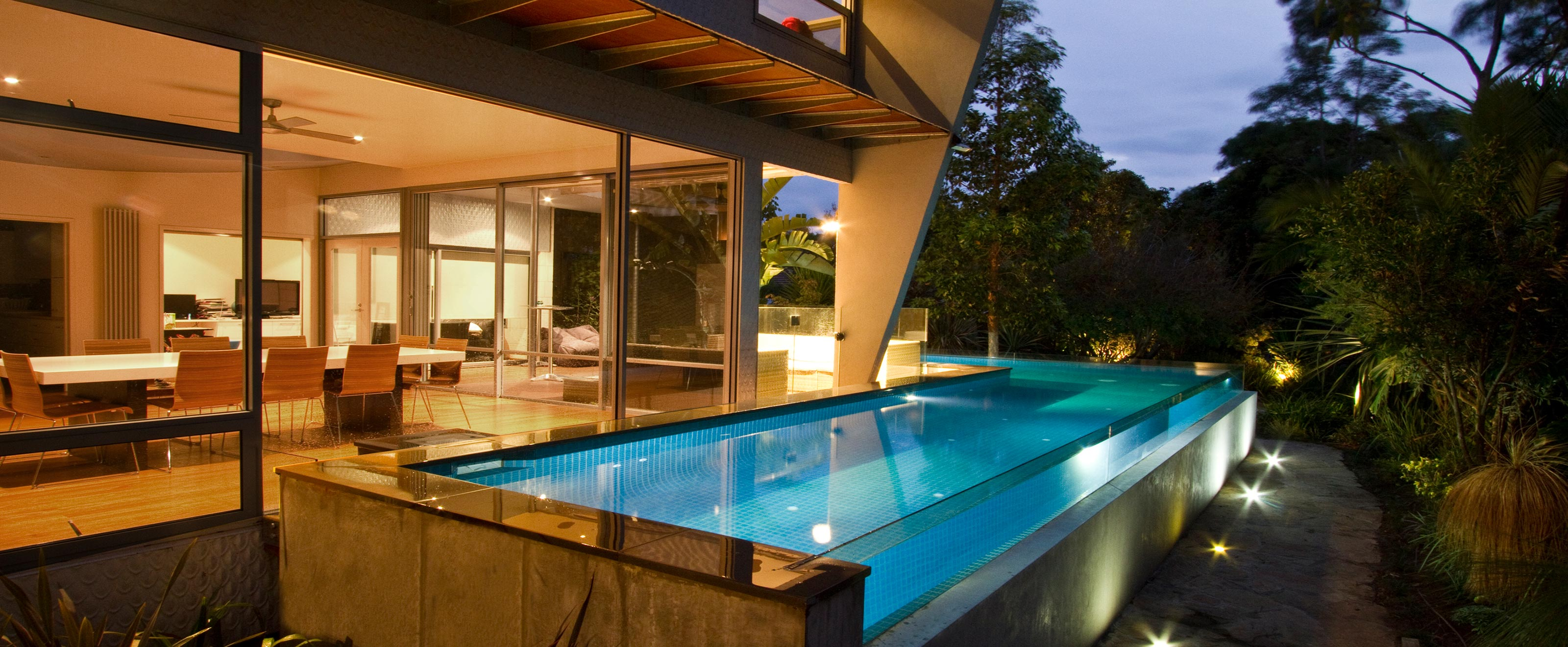 glass pools