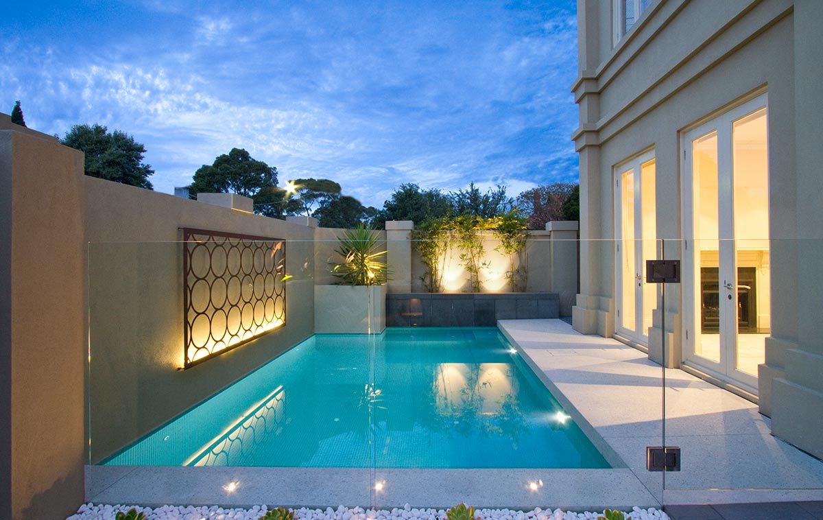 pools for small areas toorak